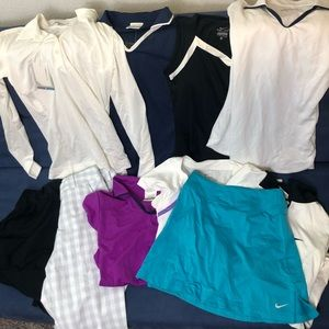 XS Women's Dry Fit Golf/Tennis wear